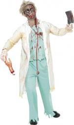 Déguisement Dr Zombie homme