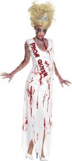 Déguisement Halloween Reine de la promo zombie