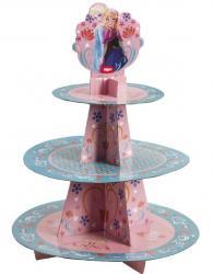 Présentoir Cupcakes La Reine des Neiges pas cher