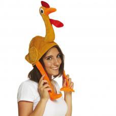chapeau poulet adulte