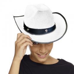 Chapeau cowboy enfant blanc pas cher