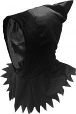 cagoule noire halloween
