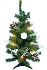 Sapin de Noël décoré 60 cm