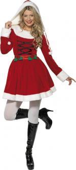 Déguisements Costume Mère Noël jupe