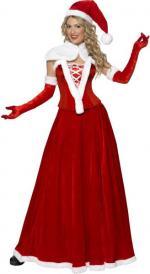 Déguisements Costume Mère Noël Robe Longue