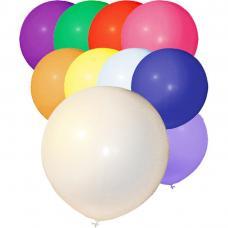 ballons baudruche geants multicolores