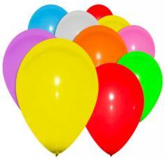 ballons gonflables multicolores 1er prix
