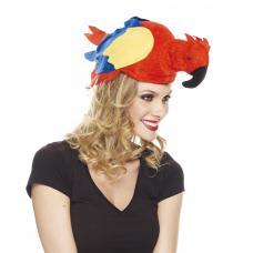chapeau perroquet adulte