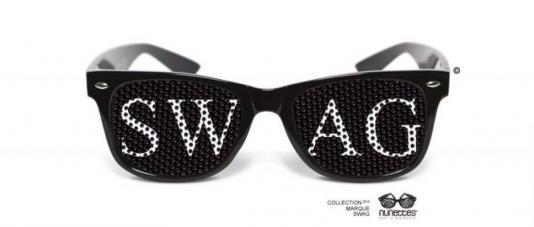 lunettes humoristiques swag