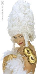 Perruque Rococo Maxi Blanche