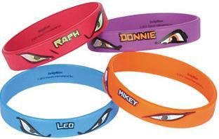 bracelets tortues ninja