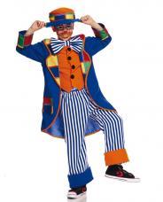 deguisement clown enfant patchwork