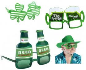 pack 100 paires de lunettes saint patrick