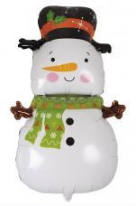 ballon bonhomme de neige