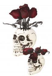 Déco bouquet de roses noires halloween pas cher