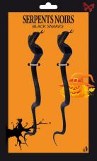 serpents noirs halloween