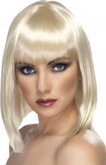 Déguisements Perruque Femme Blonde Glam