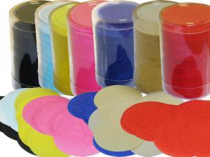 tube confettis ronds 100 gr
