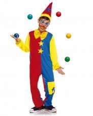 deguisement clown enfant bicolore