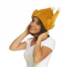 chapeau poulet roti adulte