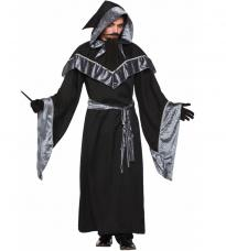 deguisement sorcier robe noire et sa capuche