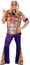 deguisement hippie homme velours
