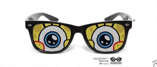 lunettes humoristiques bob love