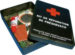 kit de reparation preservatifs