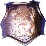 Torse plastique médiéval environ 28 x 33 cm