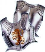 Cuirasse chevalier adulte mousse complète devant dos