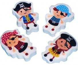 gomme pirate assortie