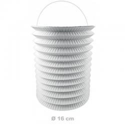 Lampion blanc 16 cm pas cher