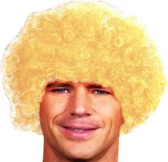 perruque pop blonde