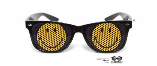 lunettes humoristiques smiley