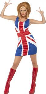 Déguisement Chanteuse Spice Girls Anglaise