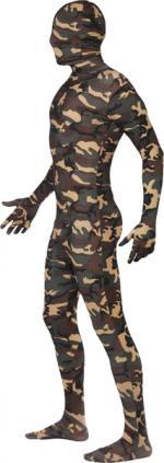 Déguisement Camouflage Seconde Peau