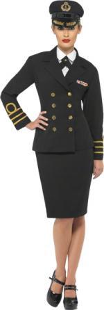 Déguisement Officier de Marine Femme