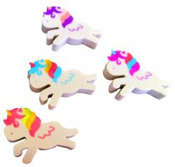 Gomme Licorne Assortis pas cher