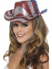 chapeau de cowboy usa plastique