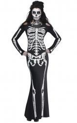 Costume sexy squelette pas cher