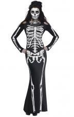 costume sexy squelette
