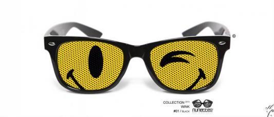 lunettes humoristiques wink