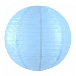 Lanterne japonaise bleu dragée pas cher