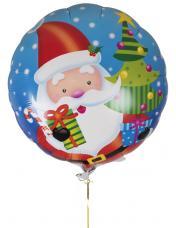 ballon rond pere noel