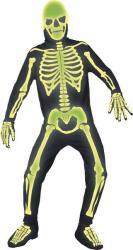 Déguisement Squelette Phosphorescent pas cher