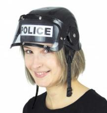 casque de police adulte