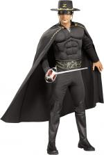 Déguisement Zorro musclé