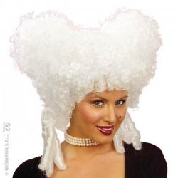 Perruque Baroque Blanche Femme