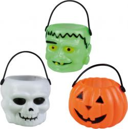 6 petits panier Halloween