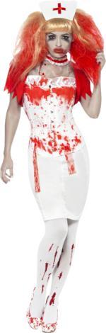 Déguisement Halloween infirmière ensanglantée
